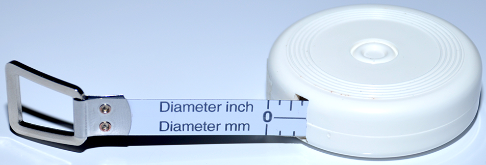 Richter Diameter Pocket Measuring Tape